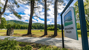 Mountain Valley sign