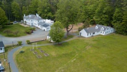Aerial White house